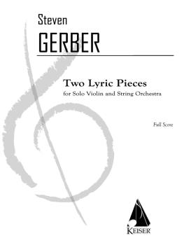 2 Lyric Pieces for Solo Violin and String Orchestra (HL-00042466)