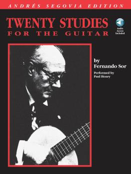 Andres Segovia - 20 Studies for the Guitar (HL-00695012)