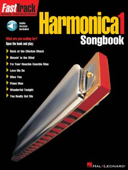 FastTrack Harmonica Songbook - Level 1 (HL-00695574)