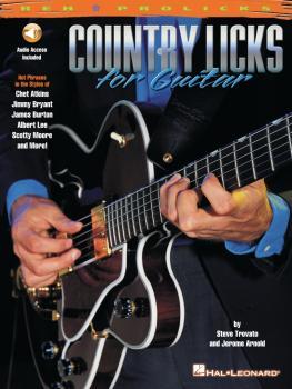 Country Licks for Guitar (HL-00695577)