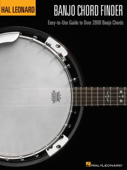 Banjo Chord Finder: Easy-to-Use Guide to Over 2,800 Banjo Chords (HL-00695741)