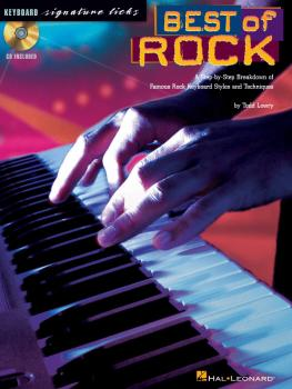 Best of Rock: A Step-by-Step Breakdown of Famous Rock Keyboard Styles  (HL-00695751)