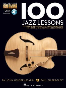 100 Jazz Lessons: Guitar Lesson Goldmine Series (HL-00696454)