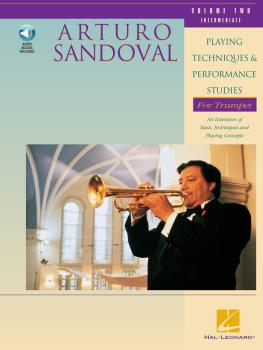 Arturo Sandoval - Playing Techniques & Performance Studies for Trumpet (HL-00696538)