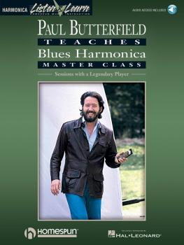 Paul Butterfield - Blues Harmonica Master Class (Book/Online Audio) (HL-00699089)