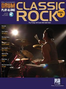 Classic Rock: Drum Play-Along Volume 2 (HL-00699741)