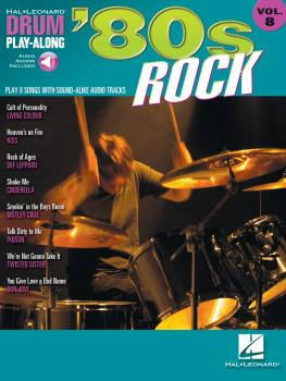 '80s Rock: Drum Play-Along Volume 8 (HL-00699832)