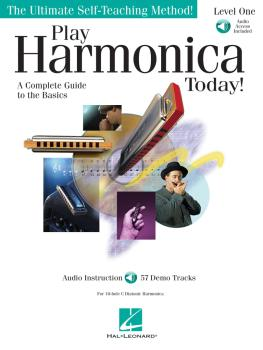 Play Harmonica Today! (Level 1) (HL-00700179)