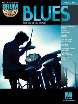 Blues: Drum Play-Along Volume 16 (HL-00700272)