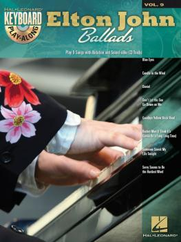 Elton John Ballads: Keyboard Play-Along Volume 9 (HL-00700752)