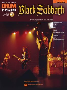 Black Sabbath: Drum Play-Along Volume 22 (HL-00701190)