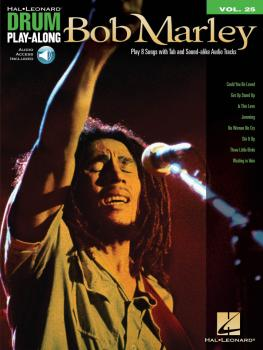 Bob Marley: Drum Play-Along Volume 25 (HL-00701703)