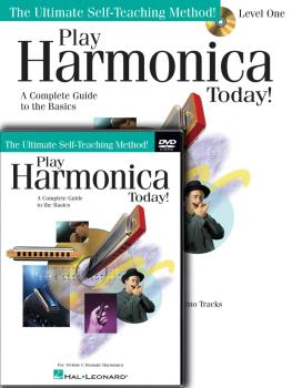 Play Harmonica Today! Beginner's Pack: Level 1 Book/CD/DVD Pack (HL-00701875)