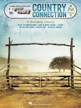 Country Connection - 3rd Edition: E-Z Play Today Volume 30 (HL-00100030)