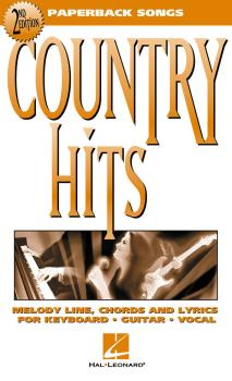 Country Hits - 2nd Edition (Paperback Songs) (HL-00702013)