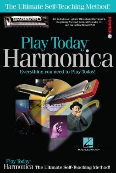 Play Harmonica Today! Complete Kit: Includes Everything You Need to Pl (HL-00703707)