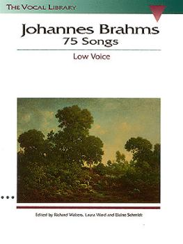 Johannes Brahms: 75 Songs (The Vocal Library) (HL-00740015)