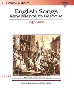English Songs: Renaissance to Baroque: The Vocal Library High Voice (HL-00740018)