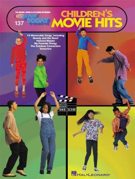 Children's Movie Hits: E-Z Play Today Volume 137 (HL-00100144)