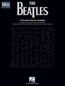 The Beatles: Note-for-Note Vocal Transcriptions (HL-00740146)
