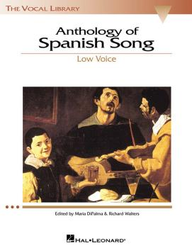 Anthology of Spanish Song: The Vocal Library Low Voice (HL-00740148)