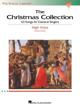The Christmas Collection: The Vocal Library High Voice (HL-00740153)