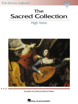 The Sacred Collection: The Vocal Library High Voice (HL-00740155)