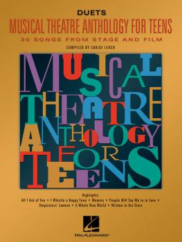 Musical Theatre Anthology for Teens (Duets Edition) (HL-00740159)