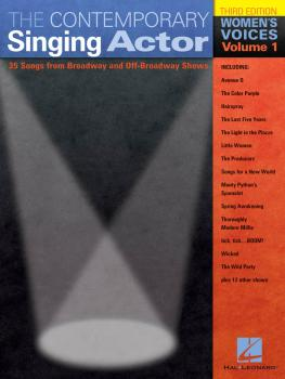 The Contemporary Singing Actor: Women's Voices Volume 1 Third Edition (HL-00740192)
