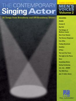 The Contemporary Singing Actor - Men's Edition: Revised Men's Edition  (HL-00740195)