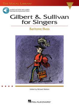 Gilbert & Sullivan for Singers: The Vocal Library Baritone/Bass (HL-00740217)
