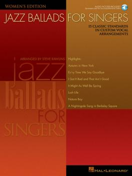 Jazz Ballads for Singers - Women's Edition: 15 Classic Standards in Cu (HL-00740258)