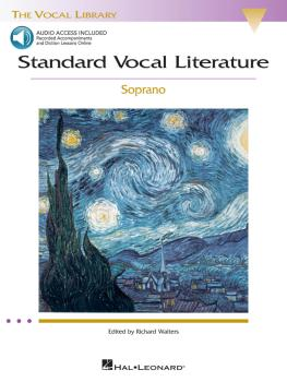 Standard Vocal Literature - An Introduction to Repertoire (Soprano) (HL-00740272)