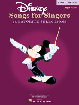 Disney Songs for Singers - Revised Edition (High Voice) (HL-00740295)
