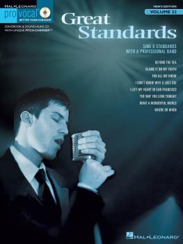 Great Standards: Pro Vocal Men's Edition Volume 22 (HL-00740358)