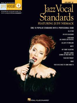 Jazz Vocal Standards: Pro Vocal Women's Edition Volume 18 featuring Ju (HL-00740376)