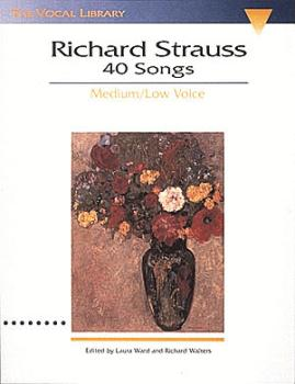 Richard Strauss: 40 Songs (The Vocal Library) (HL-00747063)