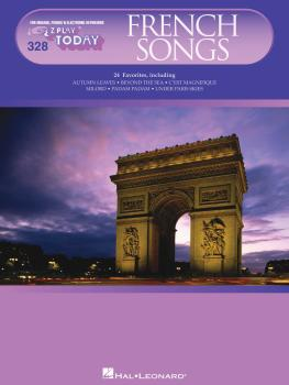 French Songs: E-Z Play Today Volume 328 (HL-00100249)