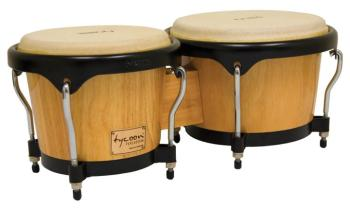 Artist Series Natural Finish Bongos: 7 inch. & 8-1/2 inch. (TY-00755114)