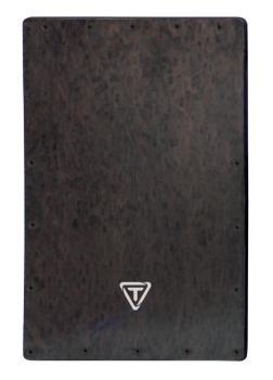 Acrylic Cajon Black Makah Burl Replacement Front Plate (HL-00755481)
