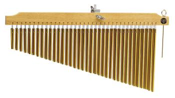 72 Gold Chimes with Natural Finish Wood Bar (HL-00755751)
