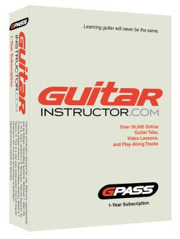 G-Pass for Guitar and Bass Players: 1-Year Subscription to Guitarinstr (HL-00790329)