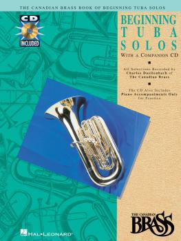 Canadian Brass Book of Beginning Tuba Solos (with a CD of performances (HL-00841144)
