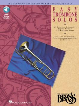 Canadian Brass Book of Easy Trombone Solos (With Online Audio of Perfo (HL-00841147)