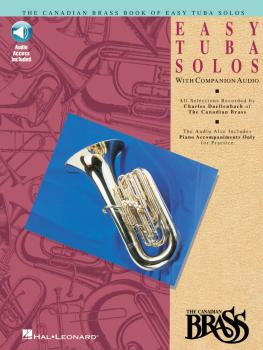Canadian Brass Book of Easy Tuba Solos (with a CD of performances and  (HL-00841148)