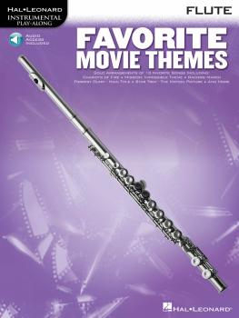 Favorite Movie Themes: Flute Play-Along Book with Online Audio (HL-00841166)