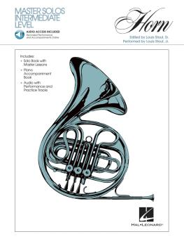Master Solos Intermediate Level - French Horn (Book/CD Pack) (HL-00841328)