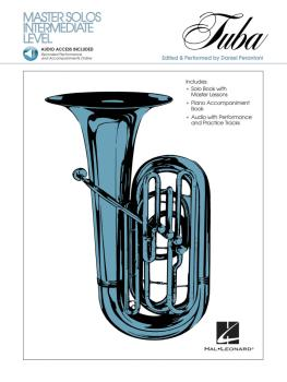 Master Solos Intermediate Level - Tuba (B.C.) (Book/CD Pack) (HL-00841331)