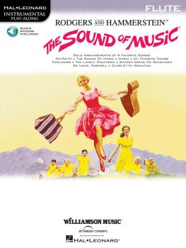 The Sound of Music: Flute Play-Along Book/Online Audio Pack (HL-00841582)