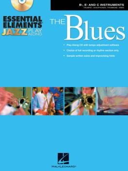 Essential Elements Jazz Play-Along - The Blues: Bb, Eb and C Instrumen (HL-00842360)